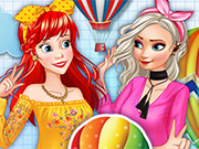 game Fashion Princesses And Balloon Festival