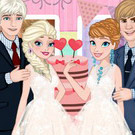 game Frozen Sisters Wedding Party