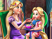 game Goldie Princess Toddler Feed