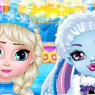 game Ice Babies Elsa X Abbey