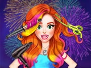 game Jessie New Year #Glam Hairstyles