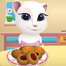 game Little Angela Cooking Jam Filled Cookies
