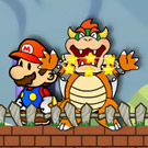game Mario Toad Defense
