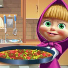 game Masha Cooking Tortilla Pizza
