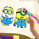 game Minions Coloring Book