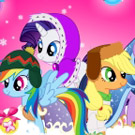 game My Little Pony Winter Fashion