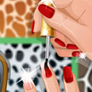game Nail Studio Animal Design
