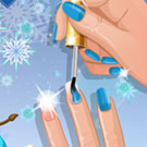 game Nail Studio Winter Design