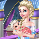 game Old Elsa Care Baby