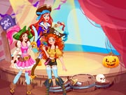 game Pirate Princess Halloween Dress Up