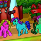 game Pony Coloring Game
