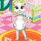 game Pregnant Angela Baby Room Decor