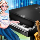 game Pregnant Elsa Piano Performance