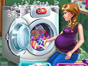 game Pregnant Princess Laundry Day