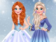game Princess Influencer Winter Wonderland