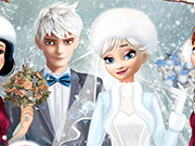 game Princess Winter Wedding Ideas