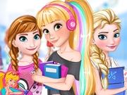 game Princesses Back To School