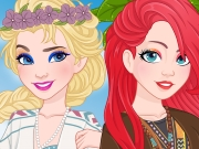 game Princesses Boho Look