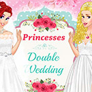 game Princesses Double Wedding