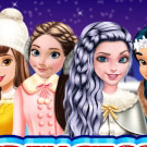 game Princesses Go Ice Skating