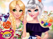 game Princesses Pretty In Floral