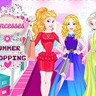 game Princesses Summer Shopping