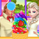 game Rainbow Ice Cream Cooking