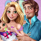 game Rapunzel and Flynn Baby Care