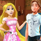 game Rapunzel And Flynn Moving Together