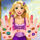 game Rapunzel Hand Treatment