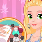 game Rapunzel Matching Nails And Dress