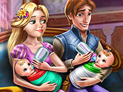 game Rapunzel Twins Family Day