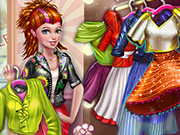game Sery Shopping Day Dress Up
