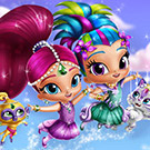 game Shimmer And Shine Dress Up