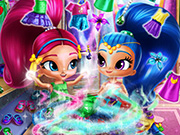 game Shimmer And Shine Wardrobe Cleaning