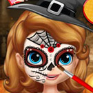 game Sofia Halloween Face Art
