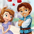 game Sofia the First Kissing