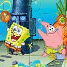 game Spongebob Basketball Puzzle