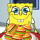 game Spongebob Love Hamburger