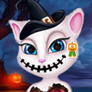 game Talking Angela Halloween Makeover