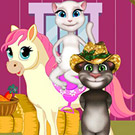 game Tom And Angela Pony Care