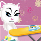 game Angela Ironing Clothes